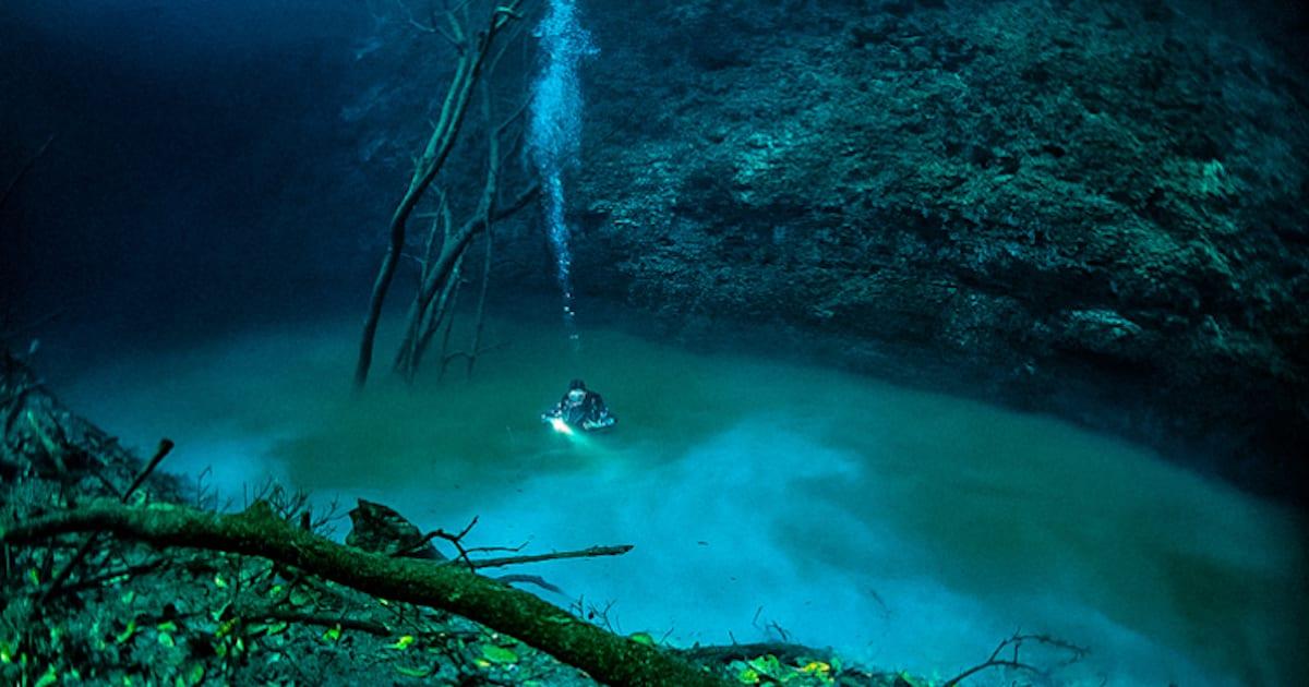 Underwater river