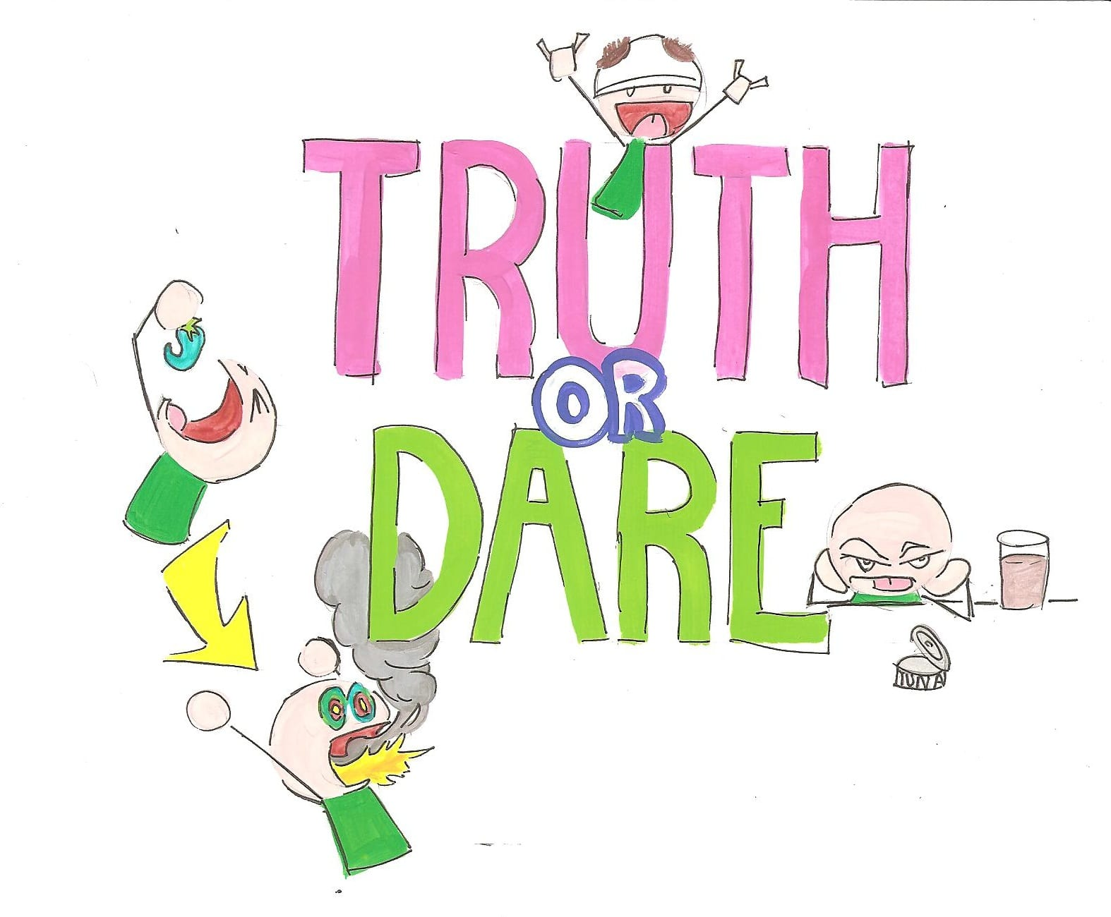 nude truth or dare game