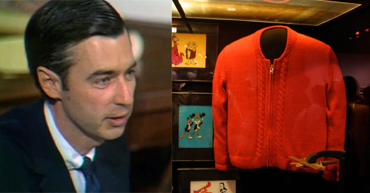 The Not So Simple Job Of Keeping Mr Rogers Cardigans Camera Ready